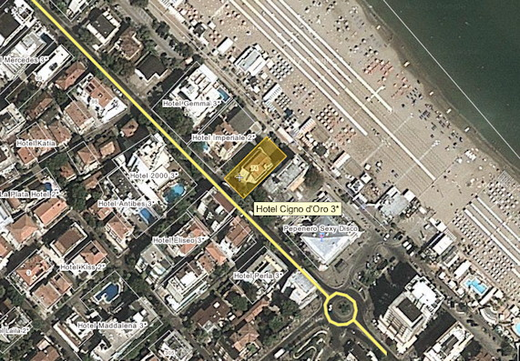 Wikimap of our seafront situation on the beach