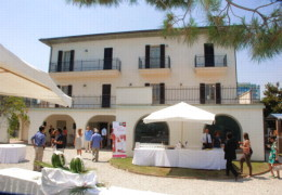 Banqueting, Promotions, Meetings, Congress, Presentations at Villa Mussolini