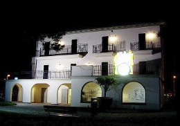 Villa Mussolini open also by night